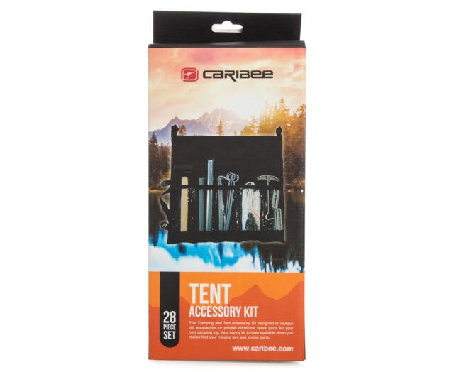 NEW Caribee 28 Pce Tent Accessory Kit