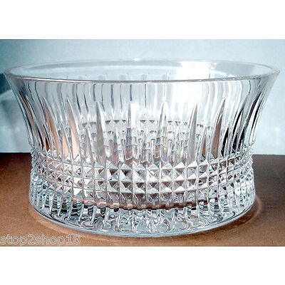 """Waterford LISMORE DIAMOND 10"""" Decorative Crystal Bowl 156507 New In Box"""