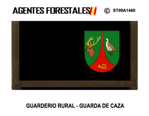 GUARDERIO RURAL GUARDA DE CAZA M2 MONEDEROS AGENTES FORESTALES