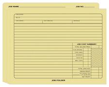 277 Expandable Job Folder 12 X 10