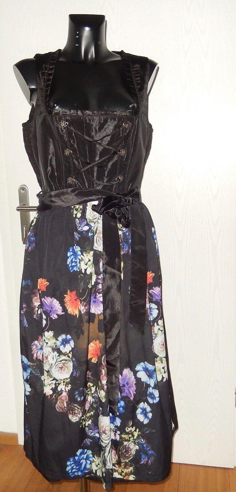 Paola du robe costumes du schwarz Größe 22 (44 K) NEUF