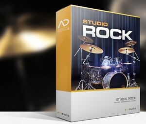 Details about XLN Audio Studio Rock ADpak Drum Kit Sample EXPANSION for  Addictive Drums 2
