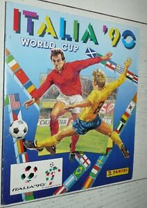 Album-panini-football-fifa-world-cup-italia-90-world-cup-1990-complete