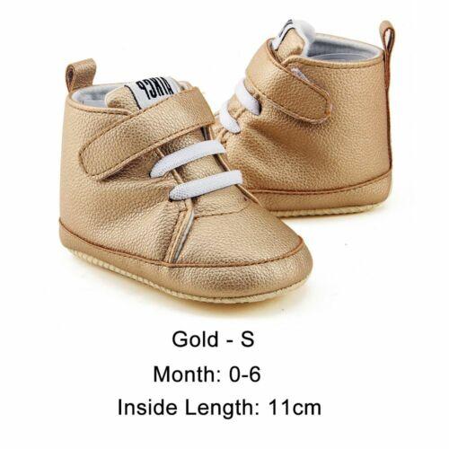 Non-slip Prewalker Boys /&Girls Martin Boots Baby Shoes PU Leather Soft Bottom