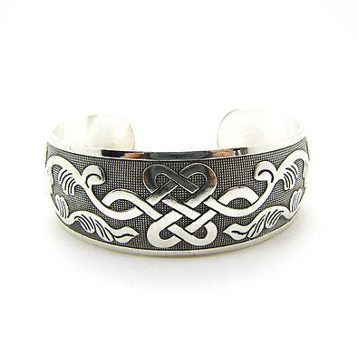 Hot Selling New tibétain Tibet Silver Totem Bangle Cuff Bracelet