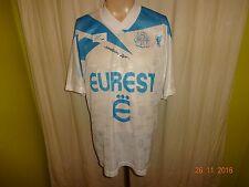 "Olympique der Marseille Original Reebok Heim Trikot 1994/95 ""EUREST"" Gr.L TOP"