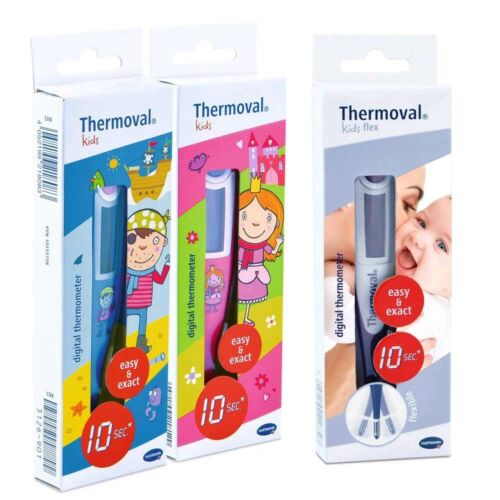 Fieberthermometer Thermoval® kids oder kids flex Digitalthermometer 10 Sek.
