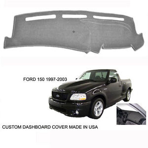 Brand New Ford F150 Pick Up Truck Custom Gray Grey Dashboard Dash Cover 97 03 Ebay