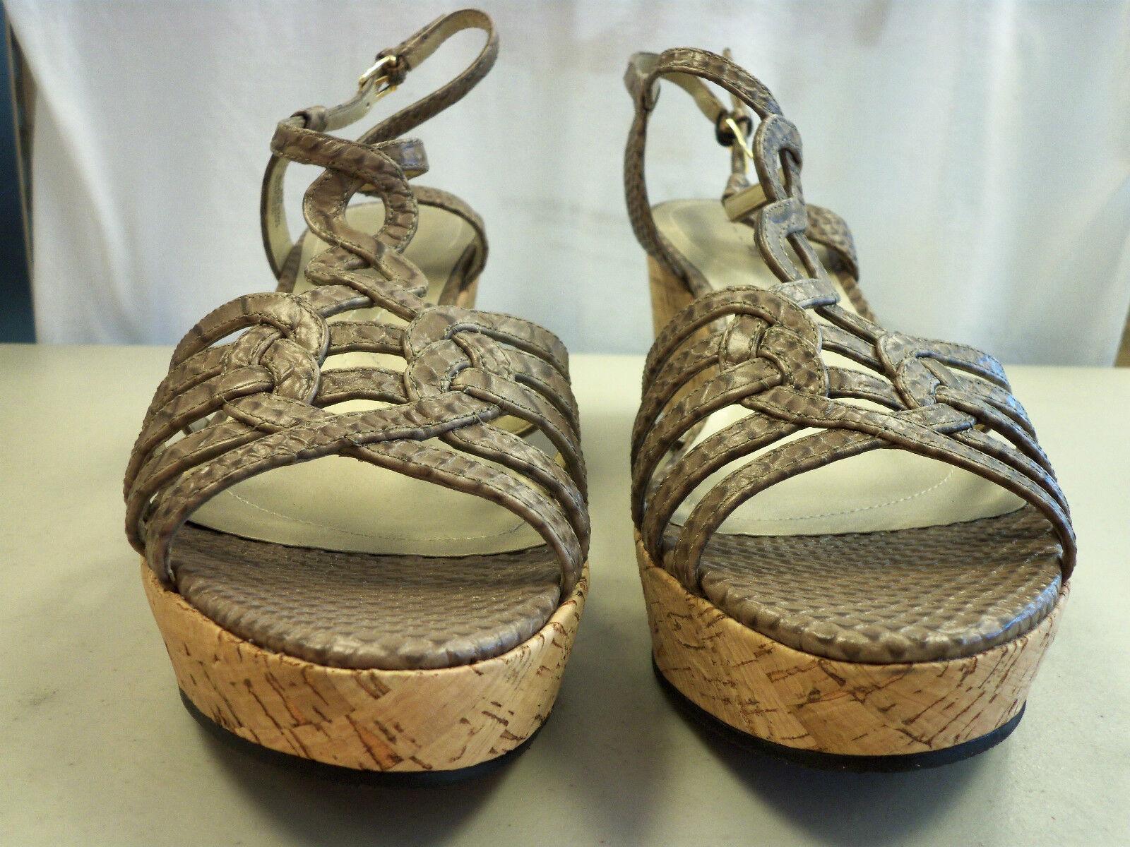 Tahari New New Tahari Donna Star Wedge Platform Sandal 9.5 M Shoes bcc1b2