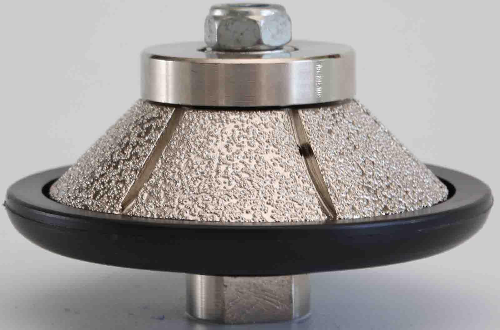 3 8 Inch E-Shape Diamond Hand Profiler Router Bits for Granite 10mm Bevel