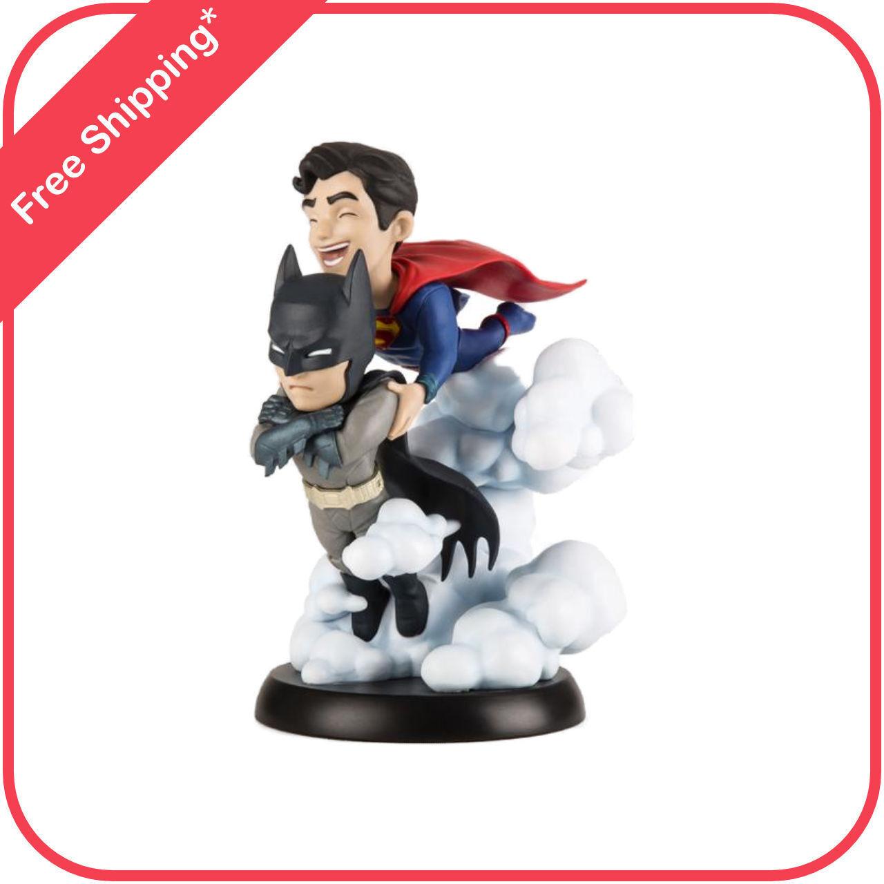 DC Comics World's Finest Batman & Superman Q-Fig by Quantum Mechanix DCC-0610