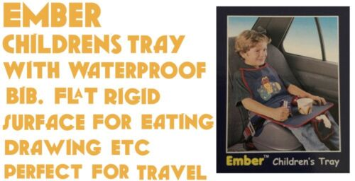 Children/'s Tray Perfect For Travel Rigid Surface For Eating And Drawing New