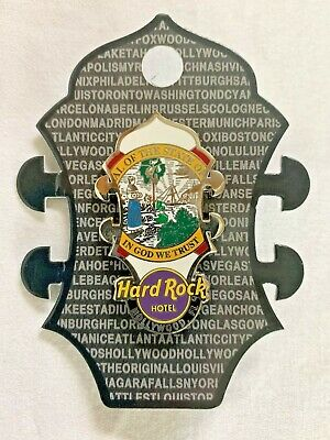 Hard Rock Cafe Biloxi Flag Headstock Pin