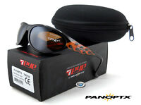 7eye Panoptx Diablo Polarized Sunglasses | Flames / Sv Polar Copper Lens on Sale
