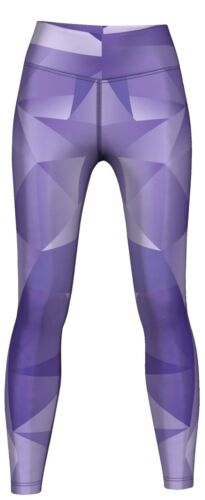 Training /& Fashion  Lila Velvy Leggings sehr dehnbar für Sport Gymnastik
