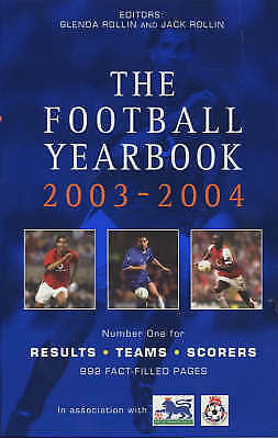 """""""VERY GOOD"""" The Sky Sports Football Yearbook 2003-2004, , Book"""
