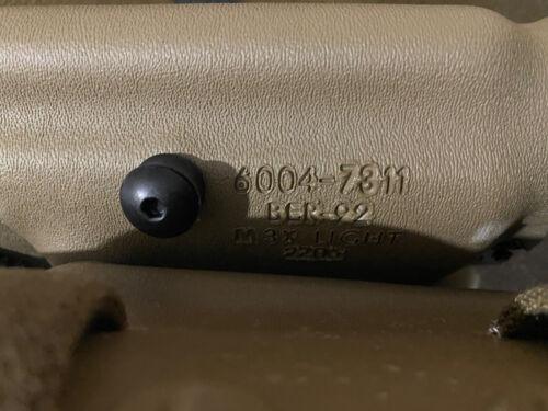 Safariland 6004 SLS Tactical Holster BERETTA 92 96 M3 M6 Light