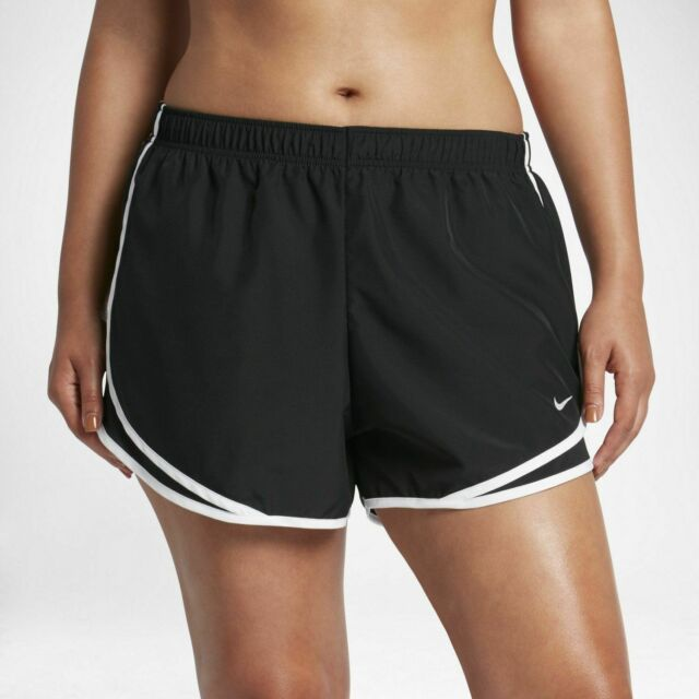 Andrew Halliday Disciplina Serena  Nike Womes Plus Size Tempo Shorts 2x 847761-010 Black for sale online | eBay