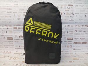 fa772111ad Chargement de l'image en cours REEBOK-Sac-a-dos-trouve-Logo-Graphique-Sac-