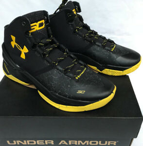 competitive price a5cf6 8f120 Details about Under Armour UA Curry 2 Dark Knight 1259007-006 MVP  Basketball Shoes Men's 11