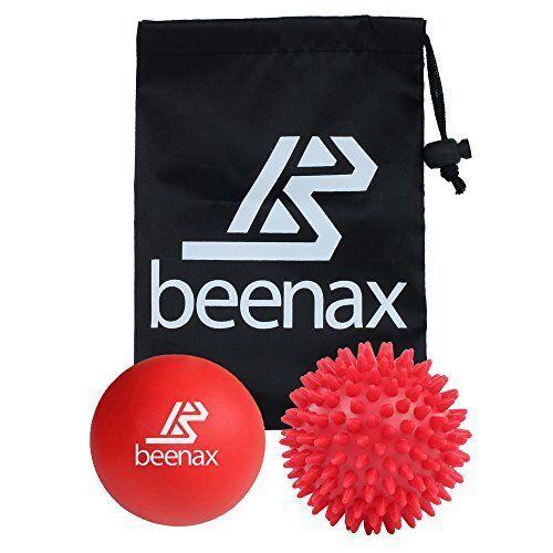Beenax Lacrosse massaggio Spiky Ball Set-Perfetto per Trigger Point Therapy la mia