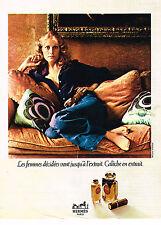PUBLICITE ADVERTISING 014   1972   HERMES  pafum  CALECHE