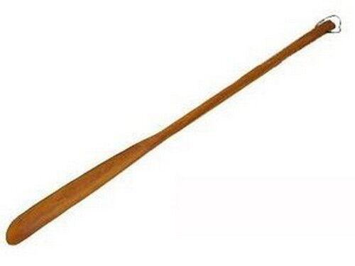 4 Pcs JapanBargain Brand Wooden Shoehorn 21-1//2-inch Long  S-1607x4