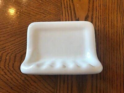 Regal Tile Bath Accessory Shower Soap Dish White Ceramic Thinset Mount