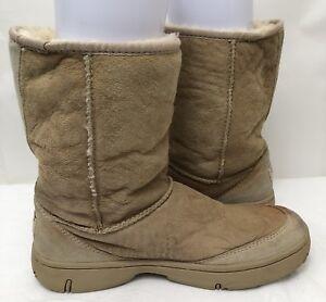ba44e6d332d Womens UGG 5275 Chestnut Brown Sheepskin Suede Ultimate Short Boots ...