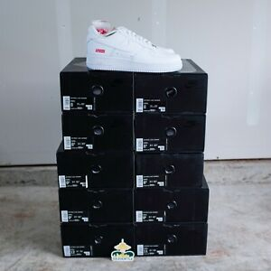 Nike-Air-Force-1-Low-Supreme-White-Size-9-5-DS-BRAND-NEW