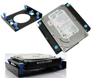 3-5-034-SSD-HDD-To-5-25-034-Shock-Absorption-Hard-Disk-Drive-Mount-Bracket-Caddy-Dock