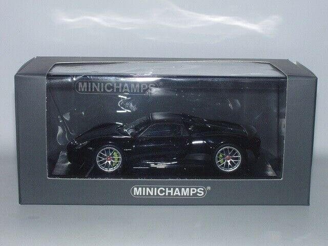 Mini campeón Porsche 918 spyder negro negro negro weissach paket, 1  43, neu, Ar, ca04316023 bb5