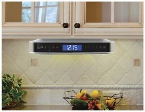 sale bluetooth speakers under cabinet kitchen radio system stereo ac rh ebay com under cabinet kitchen radio best buy under-the-cabinet kitchen clock radio/cd player