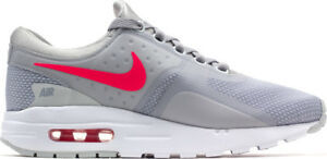 ef0b9577b6 Nike Air Max Zero Essential Running Wolf Grey/ Racer Pink/ White ...