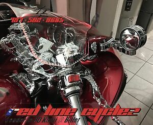 Image Is Loading HAYABUSA 99 19 NEW CHROME ADJUSTABLE MIRRORS WITH