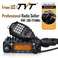 Tyt Th-9000d 60w Vhf 136-174mhz Car Truck Mobile Ham Radio Transceiver Ctcss/dcs
