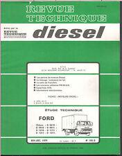 ▬►REVUE TECHNIQUE RTD de 1980 CAMIONS FORD CHASSIS D 0610-0910-0911-1010-1111...