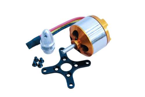 A2814//6  Brushless Außenläufer Motor 1400kv 2S-3S 7,4-11,8V 3536 A2814