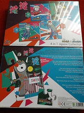 2012 RARE LONDON OLYMPICS JIGSAW PUZZLE BRADLY WIGGINS CHRIS HOY VICTORIA PENDLE