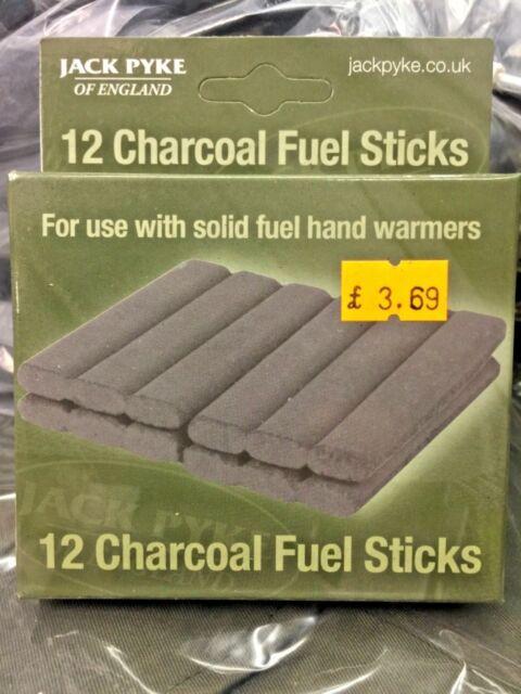 Highlander 12 x Solid Fuel Rods Sticks  for Pocket Handwarmers
