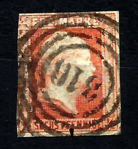 GERMANY-PRUSSIA-Yv-2-used-cachet-316-VF
