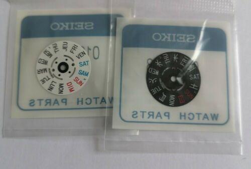 SKX007 SKX009 7S26 7S36 NH26 NH36 4R36 SEIKO DAY WHEEL 4 O/'CLOCK CROWN