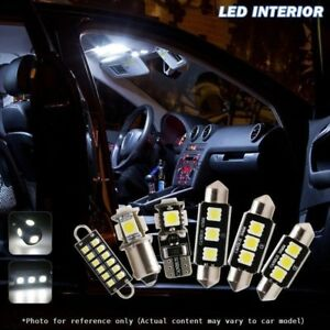 Image Is Loading 10x Canbus Car LED Light Interior Package Kit