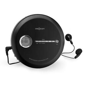 tragbarer discman disc mp3 cd player micro usb betrieb. Black Bedroom Furniture Sets. Home Design Ideas