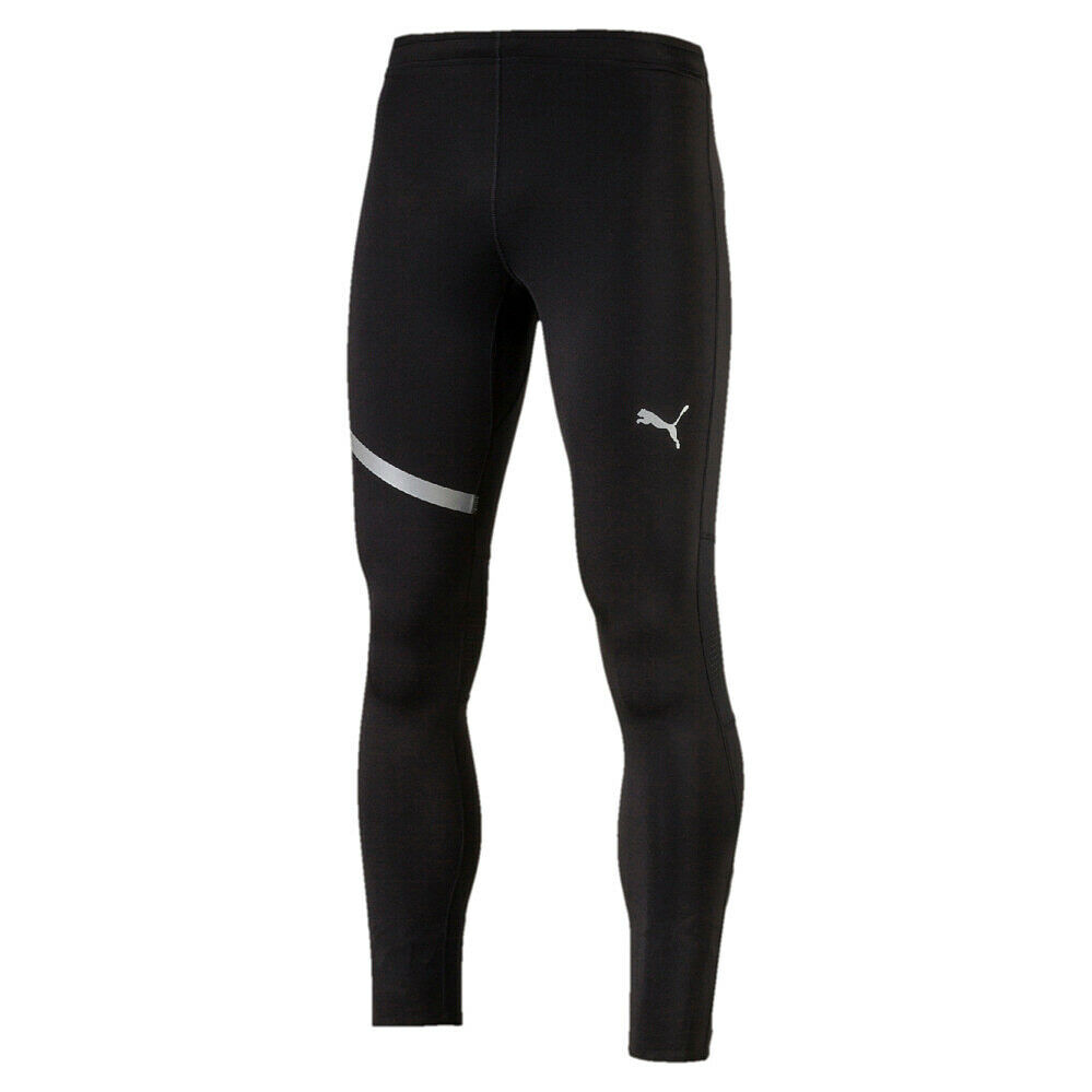 PUMA Uomo Tight Pantaloni Sportivi Pantaloni Allenamento Fitness Tights Speed Long Tight