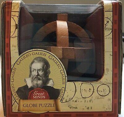 Galileo/'s Globe Brainteaser Puzzle Brand New