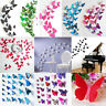 12pcs 3D Butterfly Sticker Art Decals Wall Stickers Home Room Decor Decorations