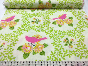Heather Bailey Birds 5 For 4 Westminster Fabrics Up Parasol Fat