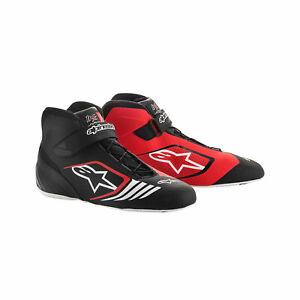 Alpinestars-Kartschuh-TECH-1-KX-MY18-Schwarz-Rot-40-5-aus-DE