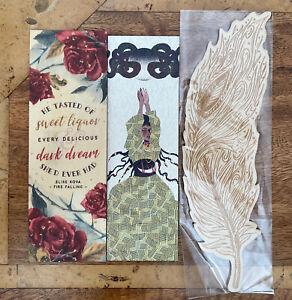 Fairyloot Illumicrate Wooden Bookmark Bookmarks Woodmark